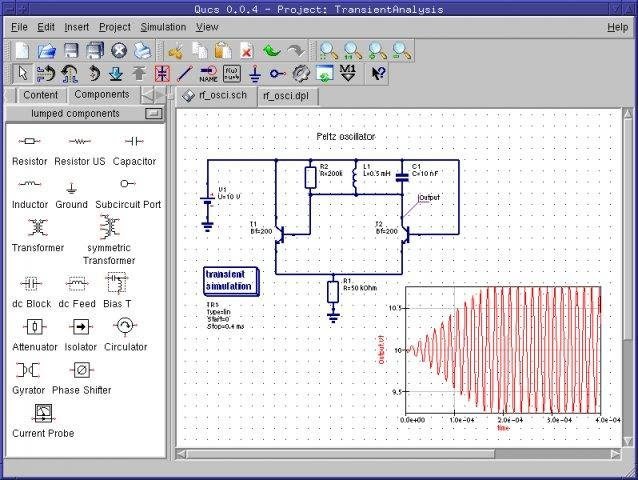 Free electronic circuit diagram/schematic drawing software-Download ...