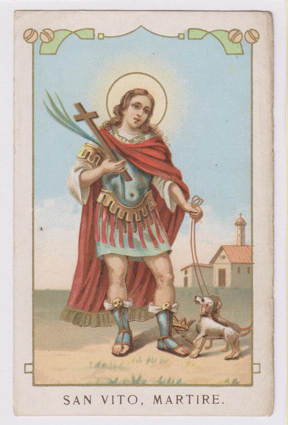 Resultado de imagen de san vito santo
