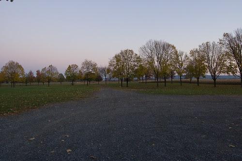 Former Barn Location.