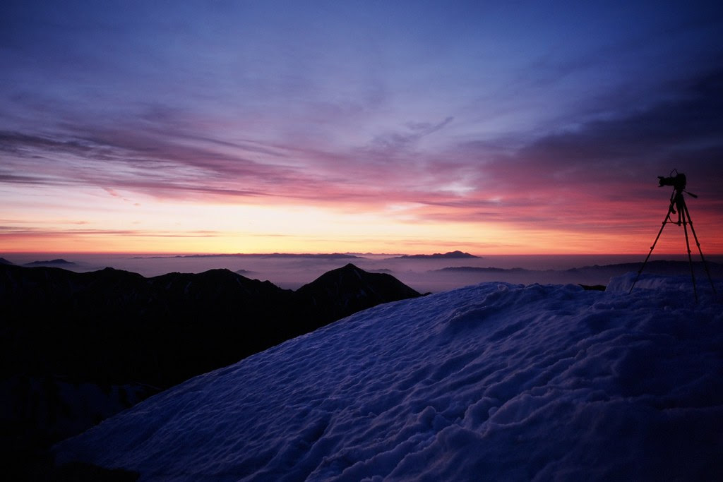 Sunrise from Kita Hotakadake
