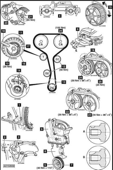 Cam Belt and Crankshaft Timing Marks: I Have a 1998cc