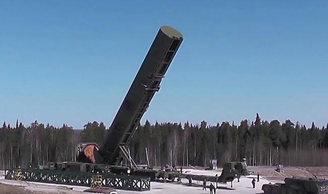 Российская армия проведет в этом году три испытательных пуска ядерных ракет «Сармат»