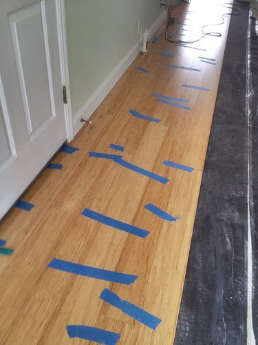 Floors laid down