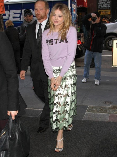 Chloe Grace Moretz - Chloe Grace Moretz Drops by the 'Today' Show