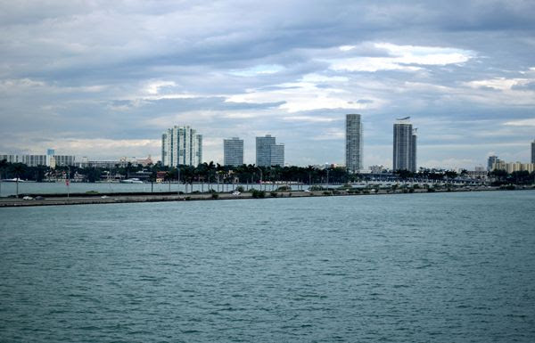 Another snapshot of Miami as seen from aboard the Norwegian Jade on March 12, 2018.