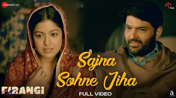 Sajna Sohne Jiha Lyrics - Firangi   Kapil Sharma & Ishita Dutta   LYRICSADVANCE