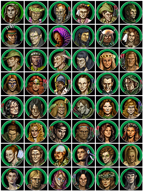 Heroes of Might and Magic 4 Nature Heroes