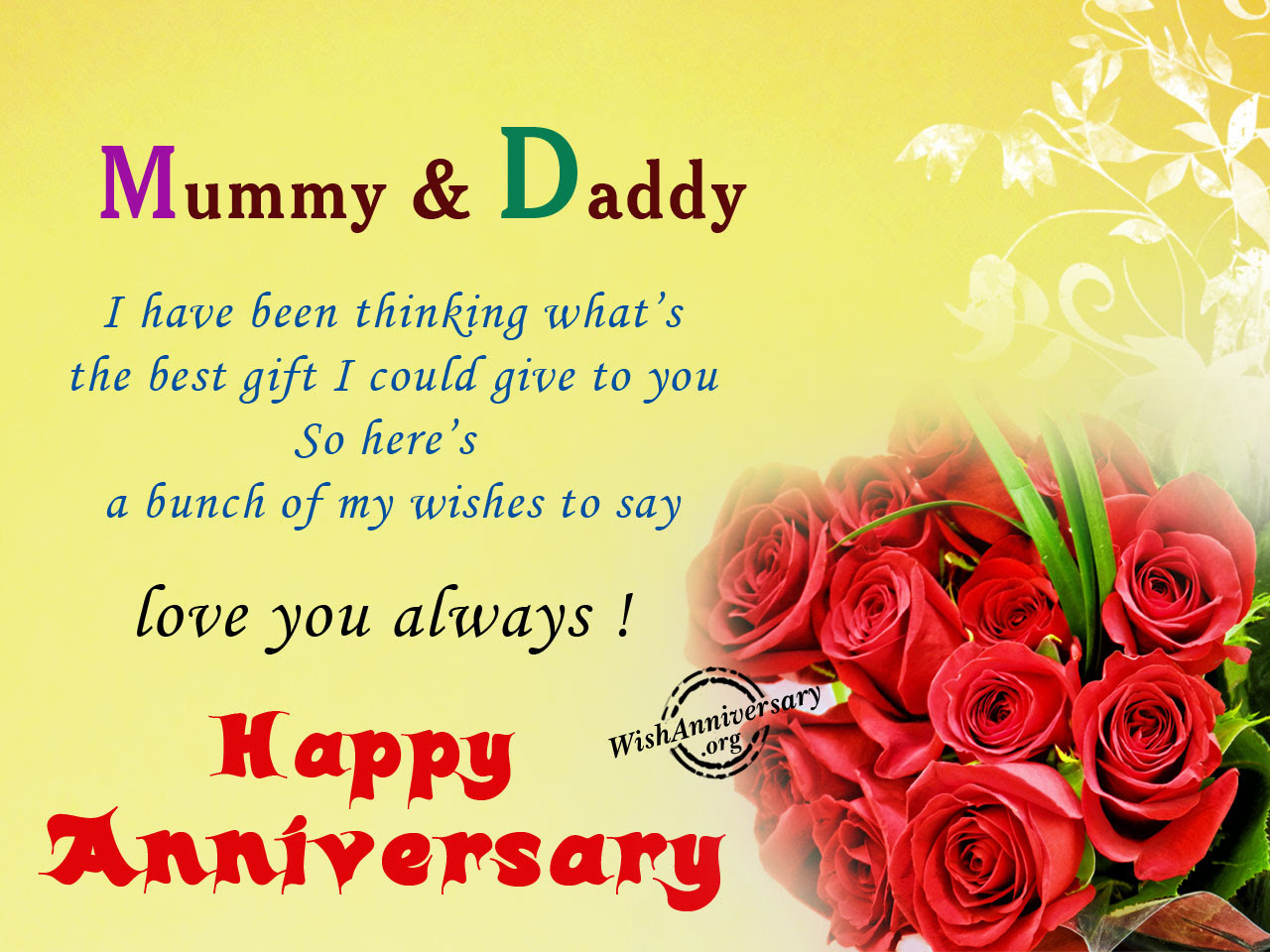 Anniversary Wishes For Parents Pictures Images Page 3