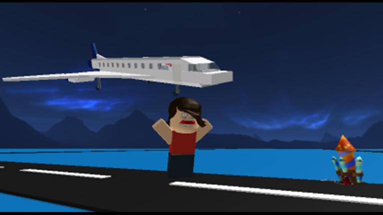 Survive plane crash roblox