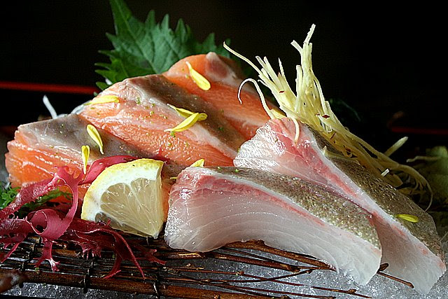Very fresh sashimi