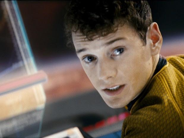 O ator Anton Yelchin na franquia 'Star Trek' (Foto: Divulgação)