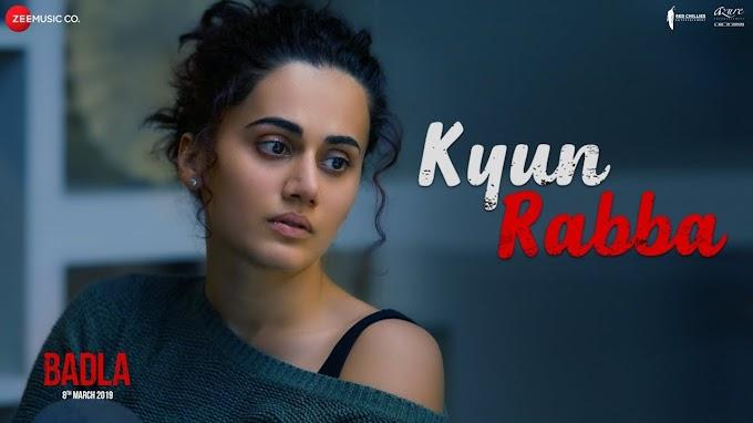 क्यूँ रब्बा Kyun Rabba Song Hindi lyrics- Armaan Mallik