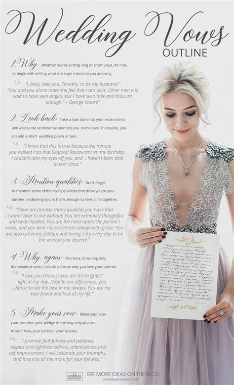 59 Wedding Vows For Her: Examples And Outline   Wedding