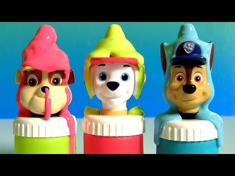 Lrcameron Good 2 Grow Paw Patrol Juice Slime Play Doh Surprises