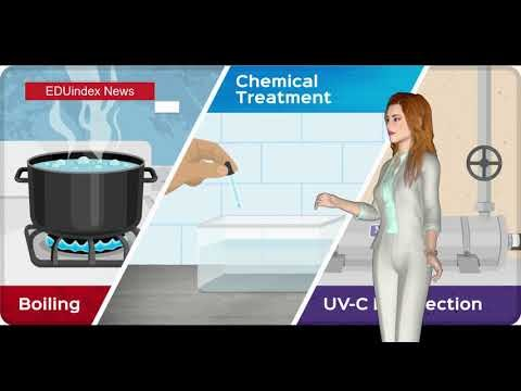 What is Disinfection and Methods of Disinfection of Water