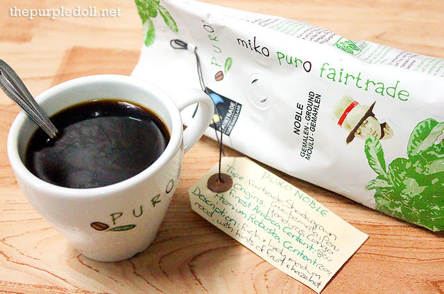 Puro Fairtrade Coffee Puro Noble