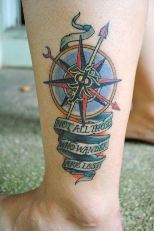 Anchor Types Tattoo On Mens Legs Tattoomagz