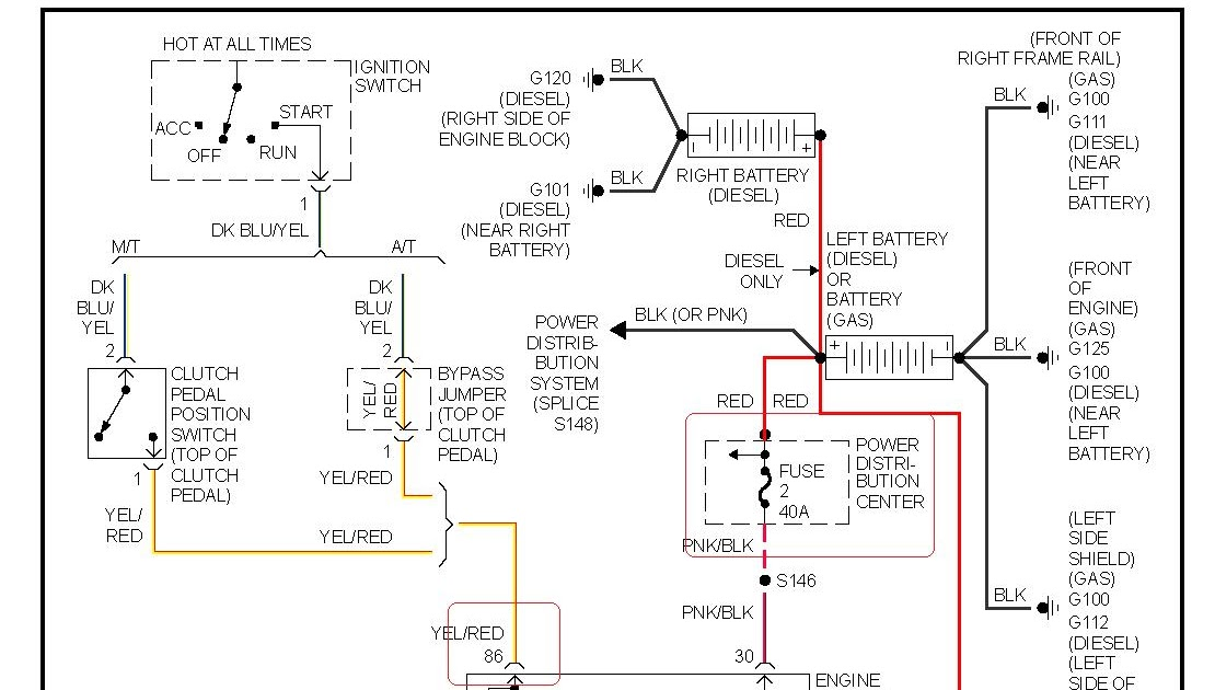26 1997 Dodge Ram 1500 Radio Wiring Diagram