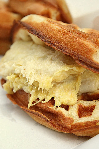 D24 durian waffle