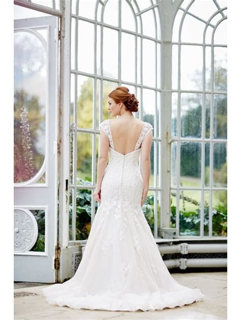 Jessica Grace Collection Lisbon Beaded Wedding Dress With