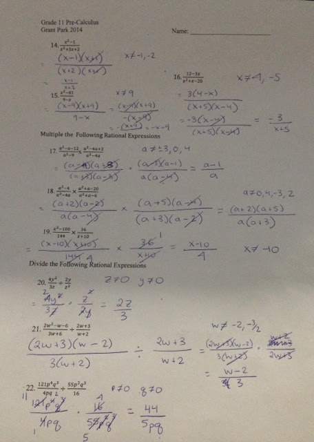 Unit 8 Rational Functions Homework 9 Solving Rational Equations