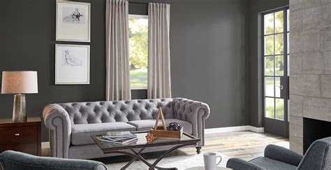 gray living room ideas  inspirational paint colors behr