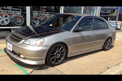 Honda Civic 2003 Tire Size