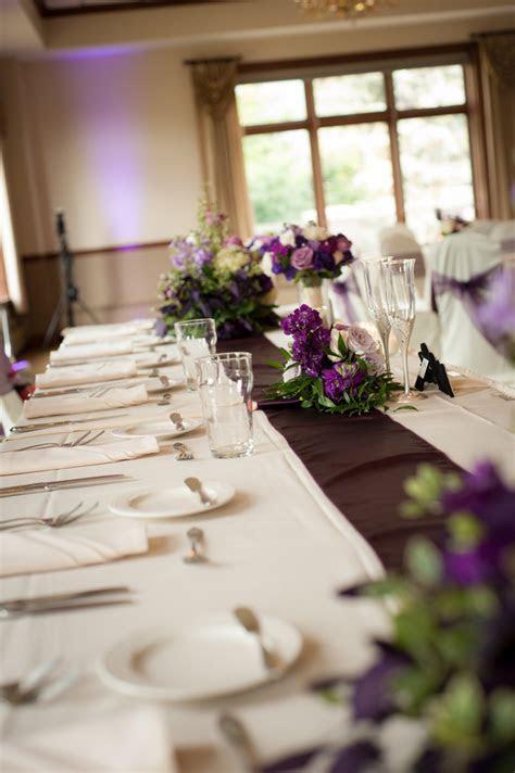 Modern Traditional Purple and Grey WeddingModern
