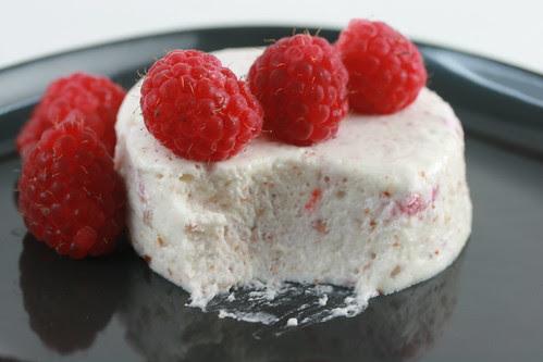 Raspberry Blanc-Manger - Food Librarian