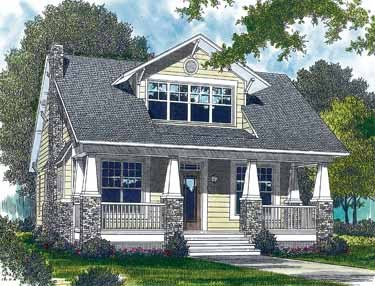 Carriage house plans craftsman style home plans for Characteristics of craftsman style homes