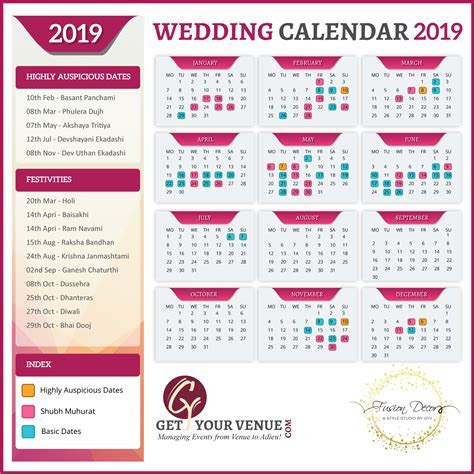 Best Wedding Dates To Get Married in 2019   GYV Blog
