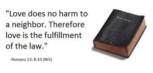 Love does no harm
