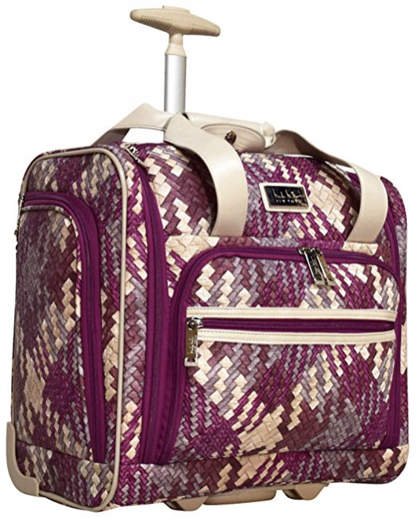 """Nicole Miller Taylor Collection 15"""" Under Seat Bag Review ..."""