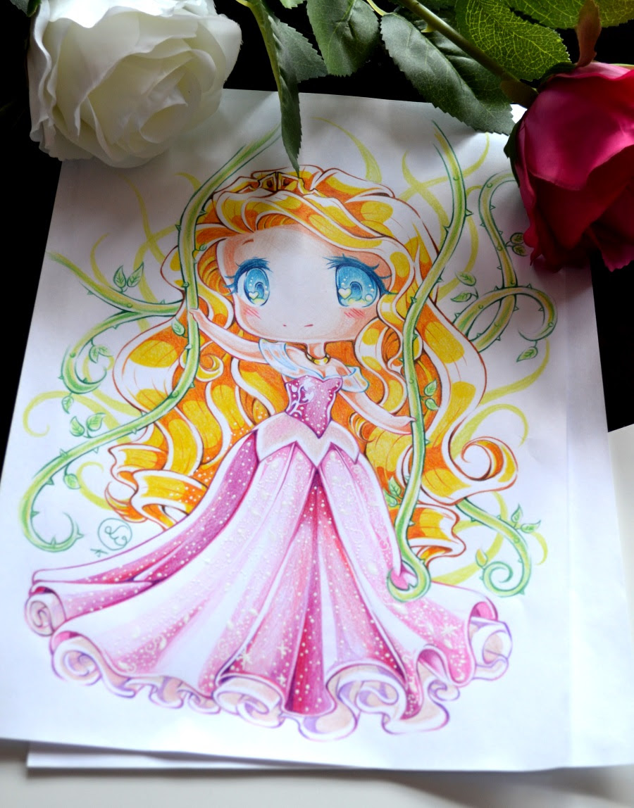 Chibi Princess Aurora by Lighane on DeviantArt