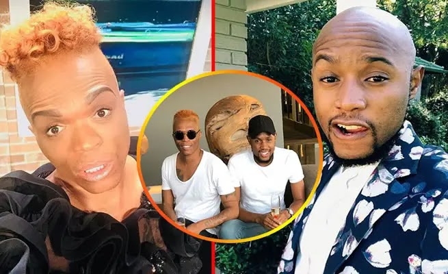 EXCLUSIVE :Somizi Ben 10 boyfriend Mohale finally speaks out