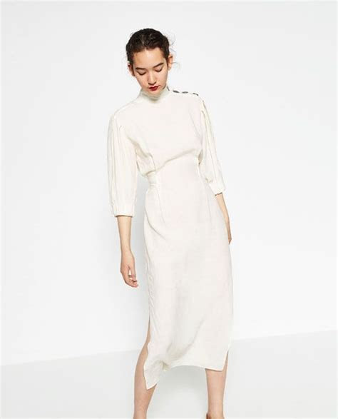 Image 5 of LINEN STUDIO DRESS from Zara   I want that! I