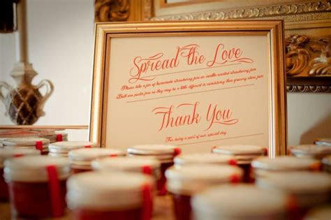 Sign for favors table   Weddingbee Photo Gallery