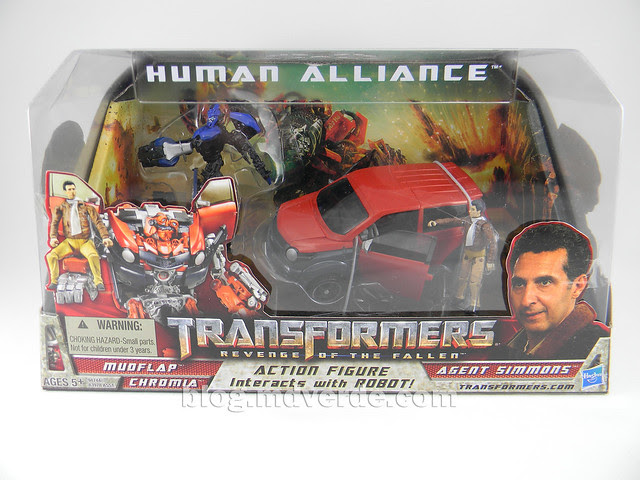 Transformers Mudflap RotF Human Alliance - empaque
