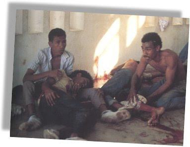 Photo from Santa Cruz massacre, November 1991
