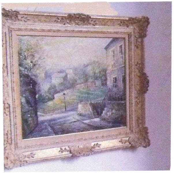 Picture of stolen painting released as police hunt for burglars
