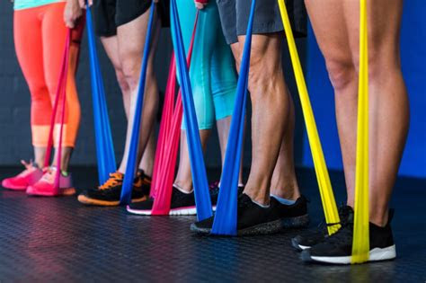 easy resistance band exercises  beginners ulearning