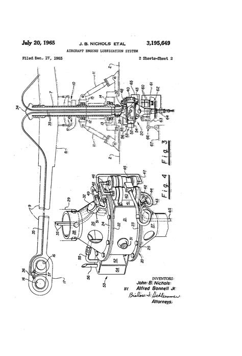 Patent US3195649 - Aircraft engine lubrication system