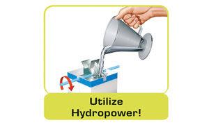 Utilize hydropower!