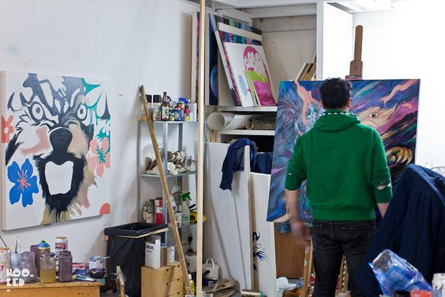 Mike Mantis — Studio Visit