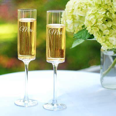 Same Sex Wedding Toasting Flutes