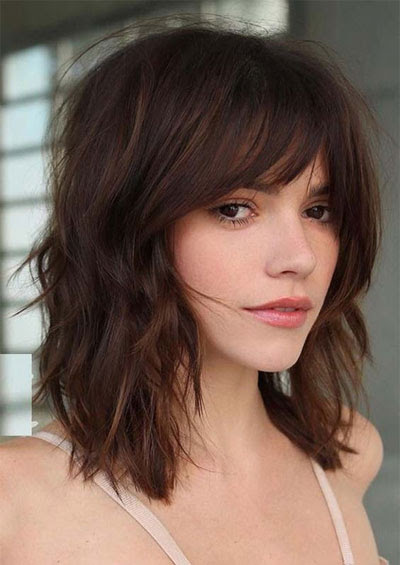 50 Best Medium Length Hairstyles for Thin (& Extremely ...