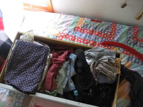 clothes, most of which i don't wear