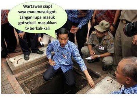 kumpulan gambar lucu melarang jokowi jadi presiden