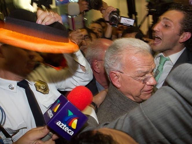 PGR arraiga a Andrés Granier por 30 días