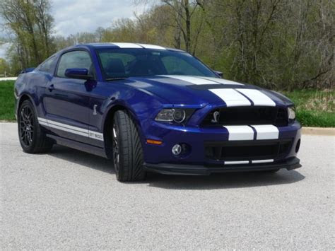 deep impact blue shelby gt luxury vehicle  sale